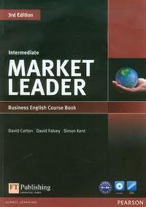 Bild von Market Leader Intermediate Business English Course Book + DVD B1-B2