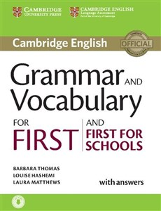 Bild von Grammar and Vocabulary for First and First for Schools with answers