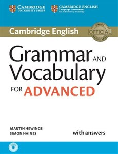 Bild von Grammar and Vocabulary for Advanced with answers