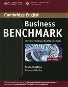 Bild von Business Benchmark Pre-intermediate to Intermediate Student's Book