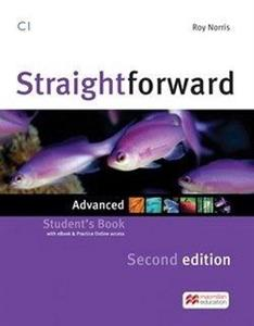 Bild von Straightforward 2nd ed. C1 Advanced SB + vebcod