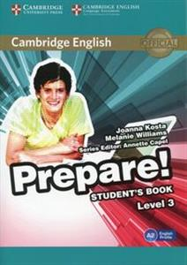 Bild von Cambridge English Prepare! 3 Student's Book