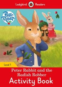 Obrazek Peter Rabbit and the Radish Robber Activity Book Ladybird Readers Level 1