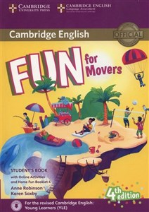 Bild von Fun for Movers Student's Book + Online Activities + Audio + Home Fun Booklet 4