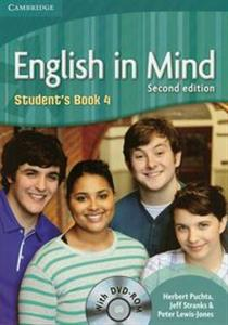 Obrazek English in Mind 4 Student's Book + DVD