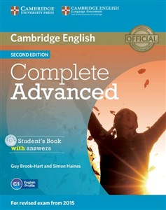 Bild von Complete Advanced Student's Book without answers z płytą CD