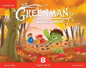 Obrazek Greenman and the Magic Forest B Pupil's Book with Stickers and Pop-outs