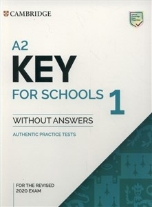 Bild von A2 Key for Schools 1 for the Revised 2020 Exam Authentic Practice Tests