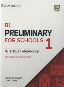 Bild von B1 Preliminary for Schools 1 for the Revised 2020 Exam Authentic Practice Tests