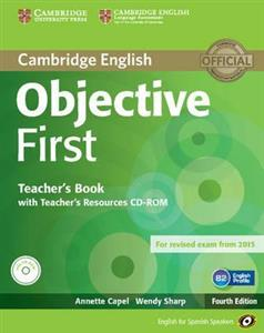 Obrazek Objective First Teacher's Book with Teacher's Recouces CD-ROM
