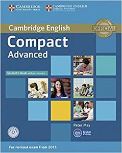 Bild von Compact Advanced Student's Book with Answers + CD