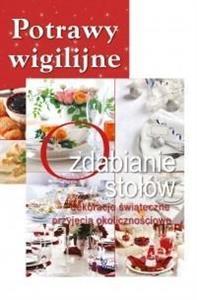 Pakiet: Potrawy wigilijne/Ozdabianie stołów
